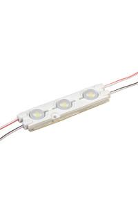 Led модуль белый холодный 12V smd5730 3LED 1.5Вт IP65