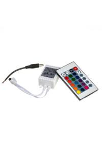 Контроллер RGB 12A-144Вт (IR 24 кнопки)