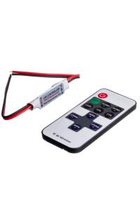 Диммер mini для светодиодов 6А-144Вт (11 кнопок)