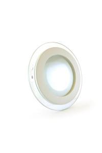 Led светильник стеклянный 6Вт 4000К круг IP20