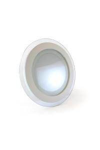 Led светильник стеклянный 12Вт 4000К круг IP20