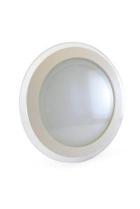 Led светильник стеклянный 18Вт 3000К круг IP20