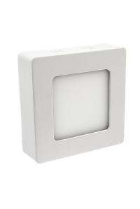 Led светильник накладной 6Вт 4000К квадрат IP20