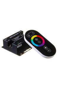 Led контроллер светодиодный rgb 18А/12 Вт черный (RR 6 кнопок)