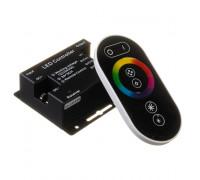 Led контроллер светодиодный rgb 24А/12 Вт черный (RR 6 кнопок)