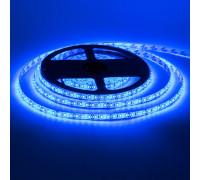 Led лента синяя 12V smd2835 120LED/m IP65, 1м