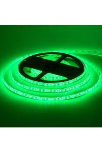 Led лента зеленая 12V smd2835 120LED/m IP20, 1м
