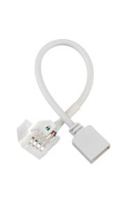 """Коннектор для LED ленты RGB 12В 10мм зажим без """"папы"""""""