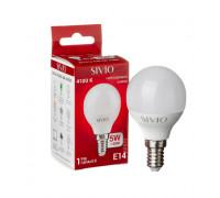 Led лампа SIVIO нейтральная белая 5W E14 G45 4100K