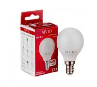 Led лампа SIVIO нейтральная белая 6W E14 G45 4100K