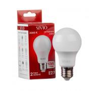 Led лампа SIVIO теплая белая 12W E27 A60 3000K