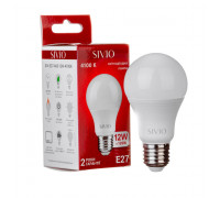 Led лампа SIVIO нейтральная белая 12W E27 A60 4100K