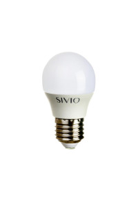 Led лампа SIVIO нейтральная белая 6W E27 G45 4100K