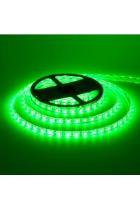 Led лента зеленая 12V smd5050 60LED/m IP65, 1м