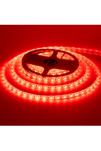 Led лента красная 12V smd5050 60LED/m IP20, 1м