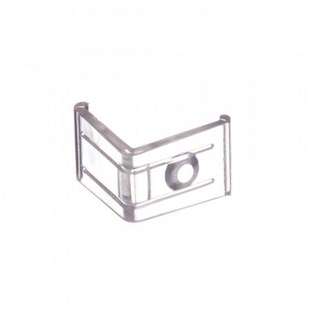 Купить Крепеж угловой для светодиодного профиля ПФ-8 пластик