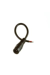 Коннектор для LED ленты 12В mini jack 5,5мм мама провод