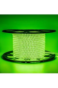 Led лента зеленая 220V AVT smd2835 120LED/m 4Вт/m IP65, 1м