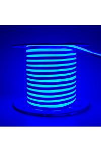 Led неон синий AVT 220V smd2835 120LED/m 7Вт/m IP65, 1м