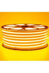 Led неон желтый 220V smd2835 120LED/m 12Вт/m IP65
