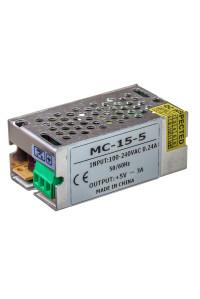 Блок питания led 5V MС/3A 360 Bт IP 20