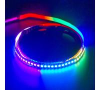 Адресная led лента AVT 5V WS2812b smd5050 144LED/m IP20, 1м