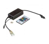 Адаптер питания Led ленты 220V Multi-Color smd2835-180 LED/m + пульт + контроллер + коннектор 4pin