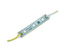 Led модуль желтый 12V smd5050 3LED 0.72Вт IP65