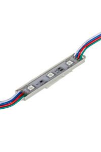 Led модуль 12V smd5050 3LED 0.72Вт IP65