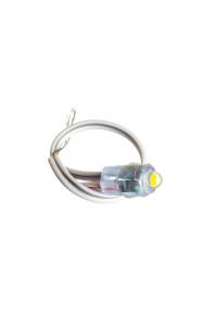 Led модуль быстрого монатжа белый теплый 12V 1LED 0.08Вт IP65
