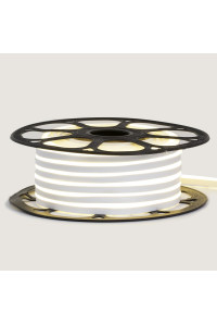 Led неон белый AVT-1 220V smd2835 120LED/m 7Вт/m IP65