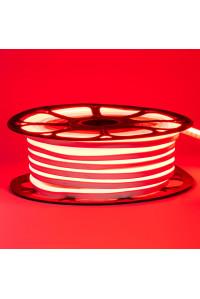Неоновая светодиодная лента красная 12V AVT 120LED/m 6W/m 6*12 IP65 silicone