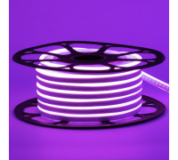 Led неон фиолетовый 12V smd2835 120LED/m 6Вт/m 8х16мм pvc IP65