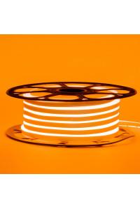 Led неон оранжевый 12V smd2835 120LED/m 6Вт/m 8х16мм pvc IP65