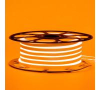 Led неон оранжевый AVT-1 220V smd2835 120LED/m 7Вт/m IP65, 1м