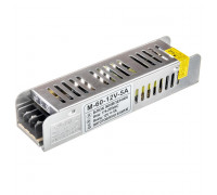 Блок питания led 12V M/5A 60 Bт IP 20