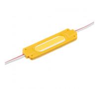 Светодиодный модуль   желтый 12V COB 1LED 2W IP65