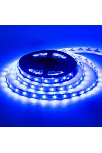 Лента светодиодная синяя 12V AVT smd3528 60LED/m IP20, 1м