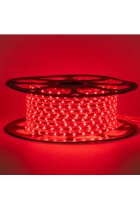 Led лента красная 220V smd2835 48LED/m 6Вт/m IP65, 1м