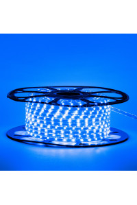 Led лента синяя 220V smd2835 48LED/m 6Вт/m IP65