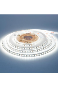 Лента светодиодная белая холодная 12V AVT New smd3528 120LED/m IP20, 1м