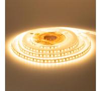 Лента светодиодная белая теплая 12V New smd3528 120LED/m IP20, 1м
