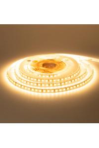 Лента светодиодная белая теплая 12V New smd3528 120LED/m IP20