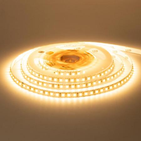 Купить Лента светодиодная белая теплая 12V New smd3528 120LED/m IP20, 1м