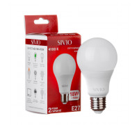 Led лампа SIVIO нейтральная белая 18W E27 A65 4100K