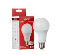 Led лампа SIVIO нейтральная белая 20W E27 A70 4100K