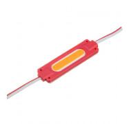Светодиодный модуль   красный 24V COB 1LED 2W IP65