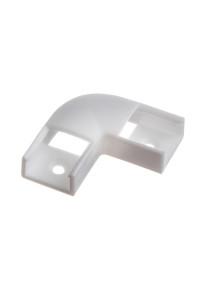 Коннектор угловой для лед профиля ПФ-9 90° пластиковый