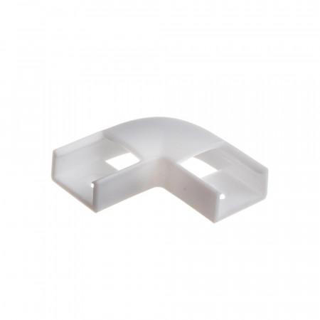 Купить Коннектор угловой для лед профиля ПФ-15 90° пластиковый