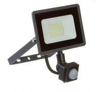 LED прожектор с датчиком движения AVT 20Вт 6000К IP65